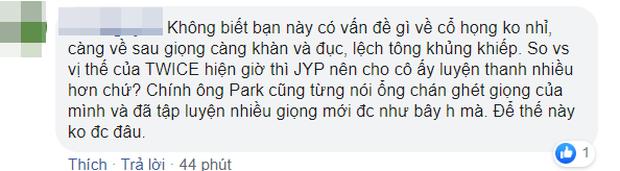 Momo (TWICE) bị netizen chê bai tơi tả khi hát live mừng chiến thắng, cất giọng 1 câu siêu choé rồi lộ vẻ khó xử ra mặt - Ảnh 9.