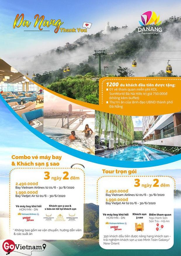 Đà Nẵng khởi động chiến dịch kích cầu hàng loạt, 150 doanh nghiệp cam kết tham gia: Miễn phí vé vào cửa nhiều địa điểm, tour 3 ngày 2 đêm chỉ 2 triệu đồng  - Ảnh 1.