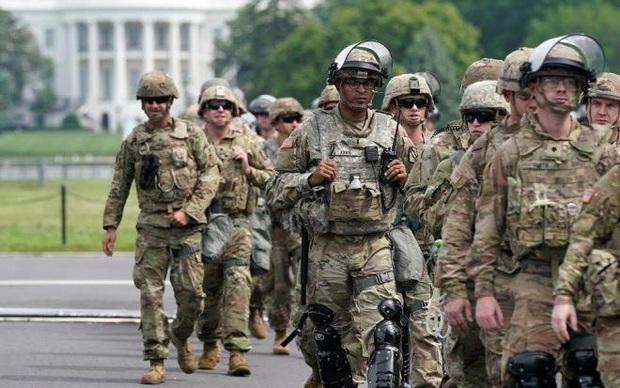 Nhiều lính Vệ binh Quốc gia Mỹ mắc Covid-19 sau khi đối phó biểu tình - Ảnh 1.