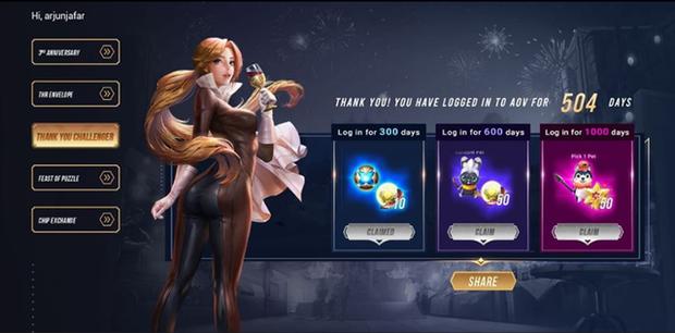 Liên Quân Mobile: Garena huy động 70 tướng, 28 skin cho game thủ chọn ở event mừng sinh nhật 3 tuổi - Ảnh 1.