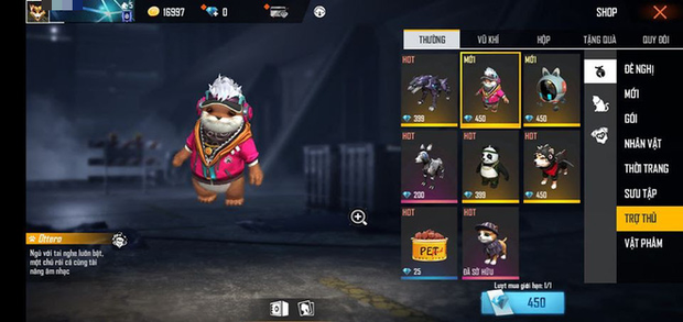 Free Fire: Khám phá đại hội thú cưng siêu dễ thương, từ boss đến rái cá Ottero đều đậm chất dân chơi - Ảnh 1.