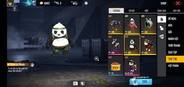 Free Fire: Khám phá đại hội thú cưng siêu dễ thương, từ boss đến rái cá Ottero đều đậm chất dân chơi - Ảnh 5.