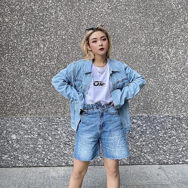 """Quần jeans cạp lệch """"gây lú"""" nhưng trendy: Đáng khen là hội gái Việt còn diện trước cả Lisa - Ảnh 8."""