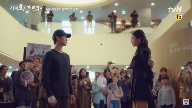 Kim Soo Hyun đẹp muốn xỉu ở Psycho But Its Okay nhưng crush lại mải ngắm trai lạ khỏa thân thế mới tức! - Ảnh 2.