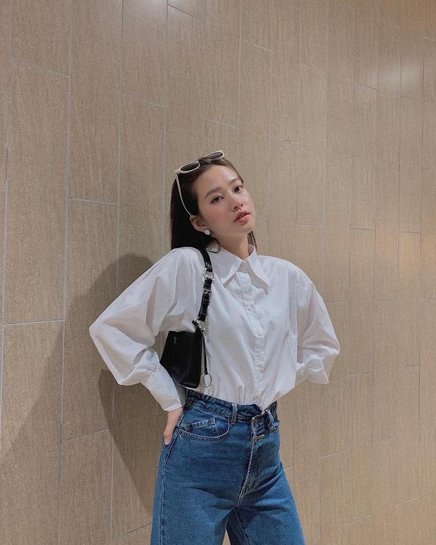 """Quần jeans cạp lệch """"gây lú"""" nhưng trendy: Đáng khen là hội gái Việt còn diện trước cả Lisa - Ảnh 4."""