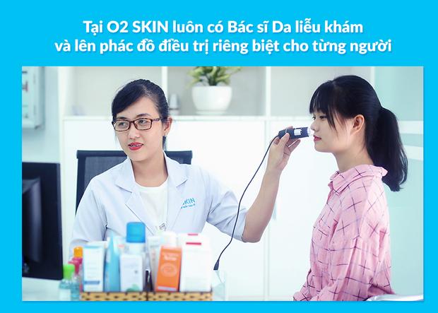 O2 Skin - Phòng khám chuyên trị mụn được lòng giới trẻ Sài thành - Ảnh 4.