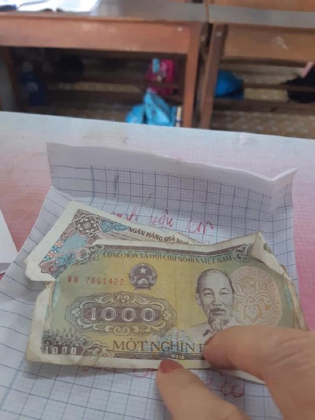 Dòng chữ bất thường trong phong thư kèm 3000 đồng của học trò gửi cô giáo - Ảnh 3.