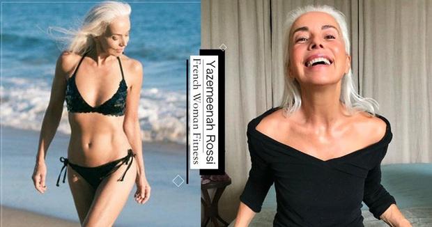 Đã 65 tuổi nhưng vẫn có cơ bụng nhấp nhô cùng đôi chân dài cực phẩm, người mẫu xứ Pháp chia sẻ bí quyết nhờ 4 tips này - Ảnh 1.