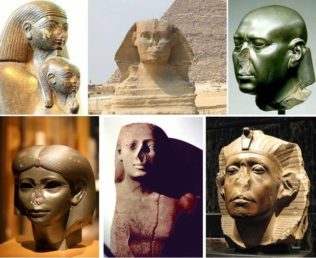 Lý do tại sao rất nhiều tượng Ai Cập cổ bị mất mũi: Bí ẩn gây đau đầu và đáp án đến từ những kẻ trộm mộ - Ảnh 3.