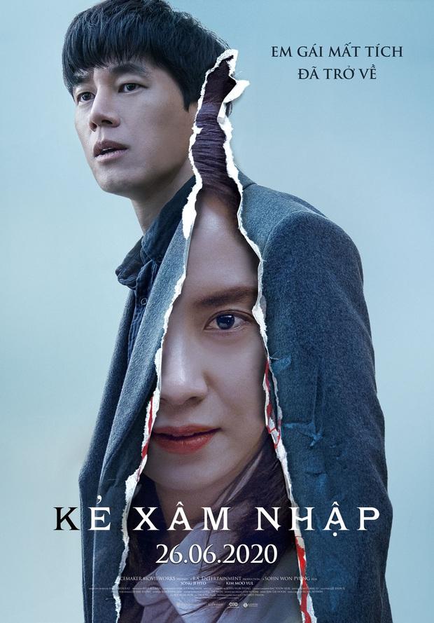 Mợ ngố Song Ji Hyo hóa ác nữ siêu bí ẩn, bị bóp cổ tưởng chết vẫn cười thản nhiên ở trailer Kẻ Xâm Nhập - Ảnh 2.