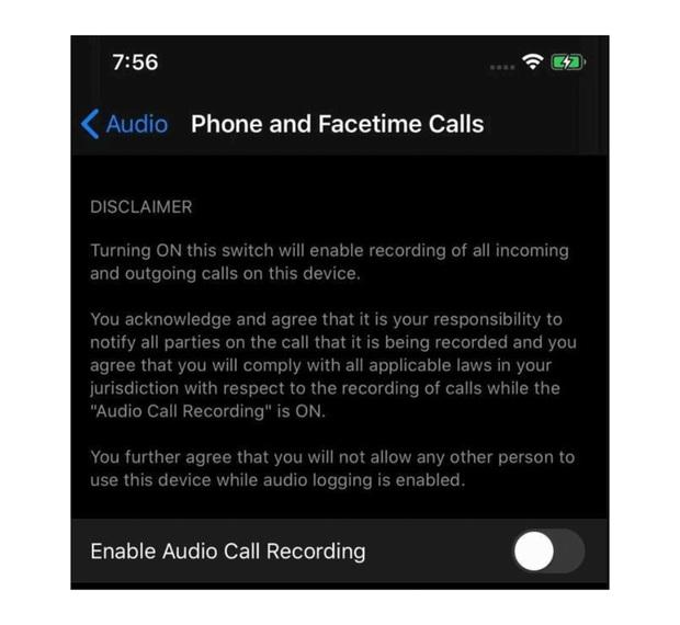 Lộ ảnh iPhone sắp có khả năng tự ghi âm cuộc gọi, tưởng thật nhưng hóa ra chỉ là cú lừa - Ảnh 1.