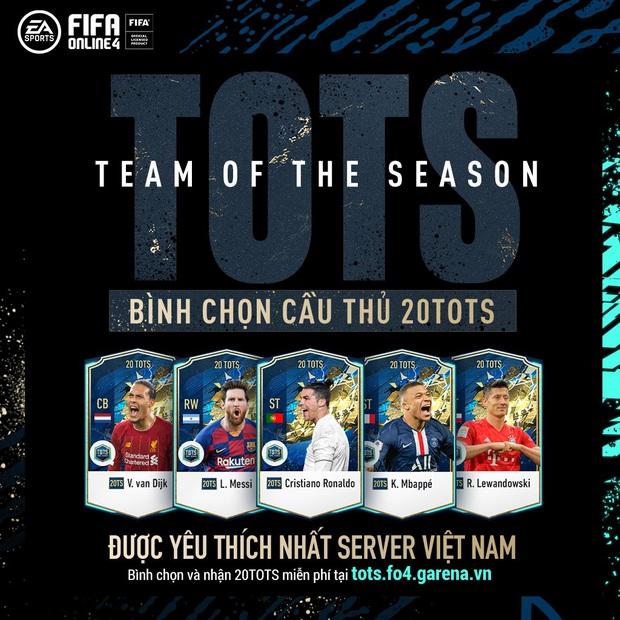 FIFA Online 4: Cú lừa của Garena Việt Nam, bỏ qua mùa thẻ BOE để ra mắt hẳn TOTS mới toanh! - Ảnh 1.
