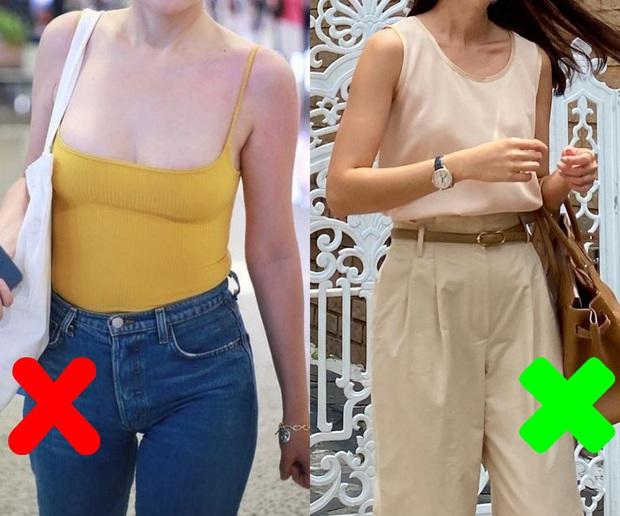 3 sai lầm khi diện áo hai dây mùa Hè khiến điểm duyên dáng của các chị em công sở tụt dốc trầm trọng - Ảnh 3.