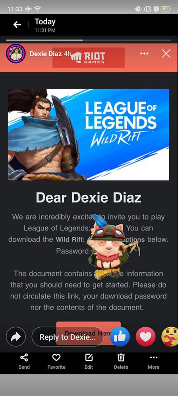 Hàng loạt game thủ Việt nhận được email từ Riot, háo hức vì tưởng thư mời test LMHT: Tốc Chiến - Ảnh 6.