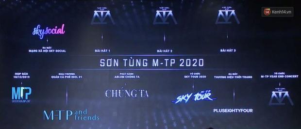 Sơn Tùng M-TP ra mắt phim rất hoành tráng nhưng SKY TOUR Movie không nằm trong 7 dự án khủng năm 2020 từng công bố trước đó - Ảnh 2.