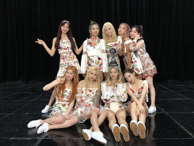 Nhận 100 cúp show âm nhạc và san bằng kỉ lục nhóm nữ của SNSD, TWICE hát encore bằng giọng em bé khiến fan ngã gục vì siêu dễ thương - Ảnh 2.