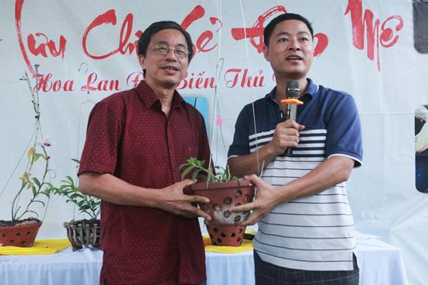 Đại gia Hà Nội chi mạnh 5 tỷ đồng mua giò lan đột biến nhìn như... ngọn rau muống - Ảnh 6.