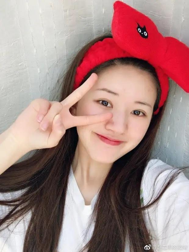 Mỹ nhân Trần Thiên Thiên Triệu Lộ Tư hay bị chê mặt to nhưng nhìn cô đắp mặt nạ thì netizen mới ngã ngửa vì sự thật - Ảnh 11.