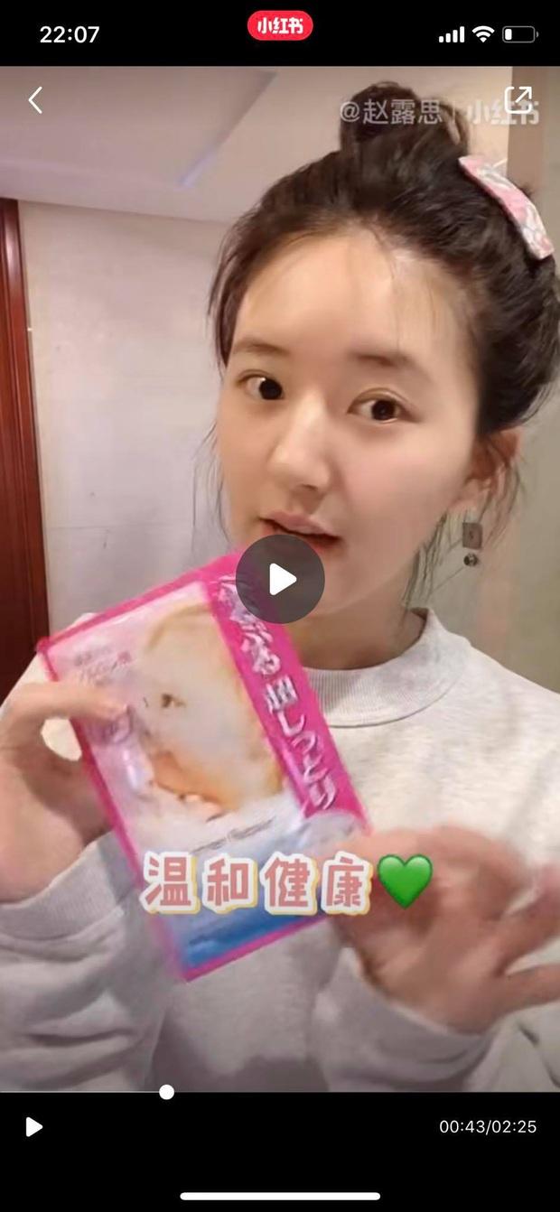 Mỹ nhân Trần Thiên Thiên Triệu Lộ Tư hay bị chê mặt to nhưng nhìn cô đắp mặt nạ thì netizen mới ngã ngửa vì sự thật - Ảnh 4.