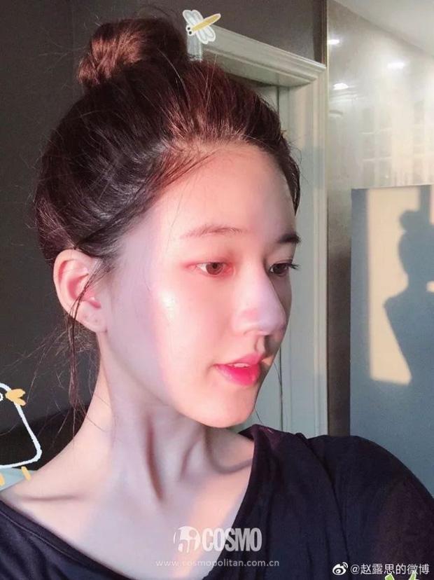Mỹ nhân Trần Thiên Thiên Triệu Lộ Tư hay bị chê mặt to nhưng nhìn cô đắp mặt nạ thì netizen mới ngã ngửa vì sự thật - Ảnh 9.
