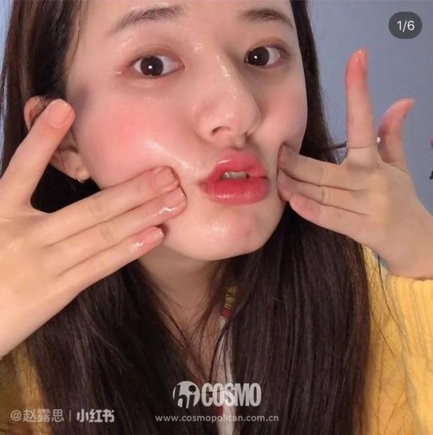 Mỹ nhân Trần Thiên Thiên Triệu Lộ Tư hay bị chê mặt to nhưng nhìn cô đắp mặt nạ thì netizen mới ngã ngửa vì sự thật - Ảnh 10.