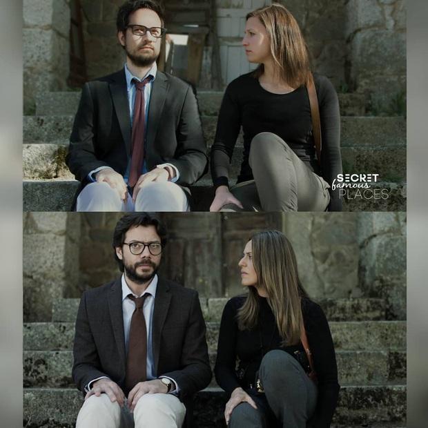 Quên việc chụp ảnh check-in khi đi du lịch, cặp đôi dắt tay nhau đi khắp thế giới để cover những cảnh phim kinh điển  - Ảnh 3.