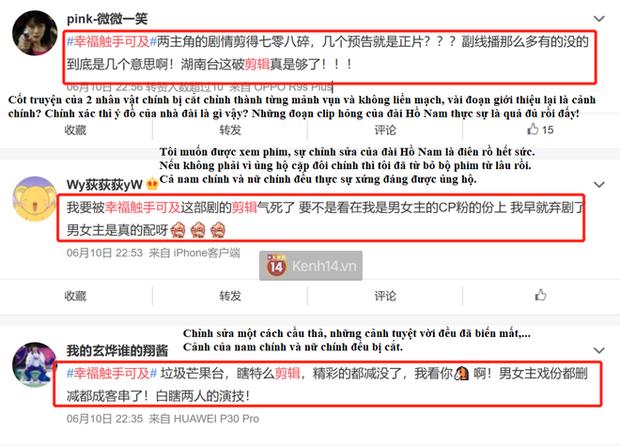 Fan Hạnh Phúc Trong Tầm Tay ấm ức tố nhà đài cắt cảnh mật ngọt của Cảnh Du – Nhiệt Ba: Thà xem trailer còn khoái hơn!  - Ảnh 2.