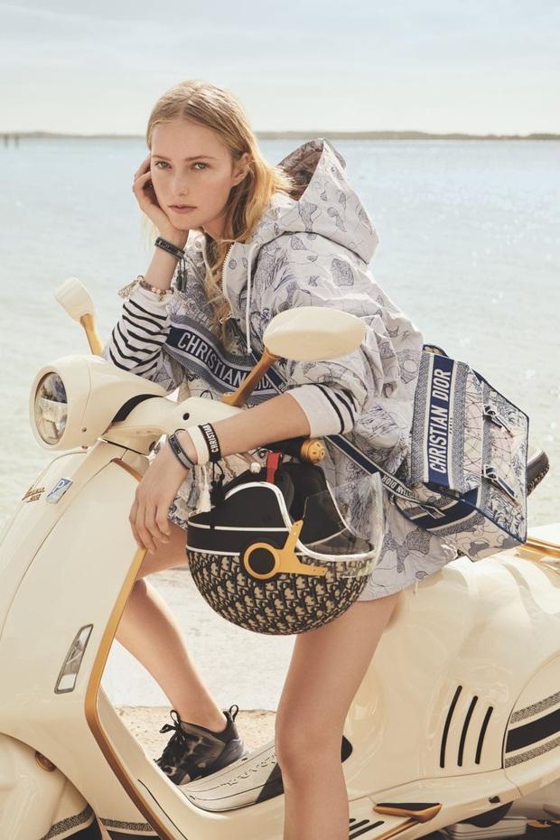 Không phải túi xách, Dior khiến giới mộ điệu xôn xao từ giờ đến 2021 với Vespa 946 phiên bản đặc biệt - Ảnh 2.