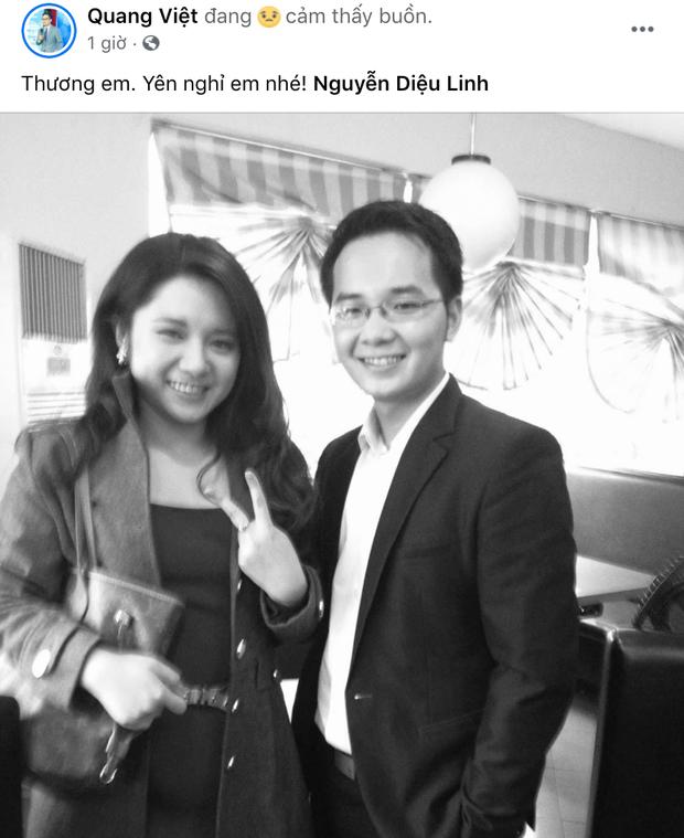 """Đồng nghiệp ở VTV và các đài truyền hình xót xa khi nghe tin MC Diệu Linh qua đời: """"Sẽ không còn đau khổ em nhé"""" - Ảnh 2."""