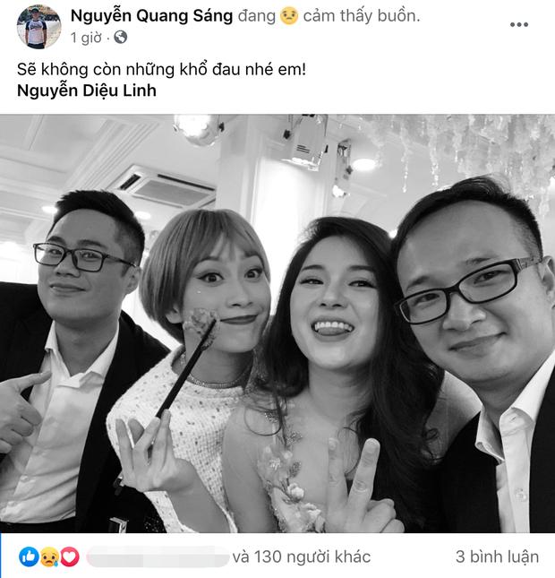"""Đồng nghiệp ở VTV và các đài truyền hình xót xa khi nghe tin MC Diệu Linh qua đời: """"Sẽ không còn đau khổ em nhé"""" - Ảnh 3."""