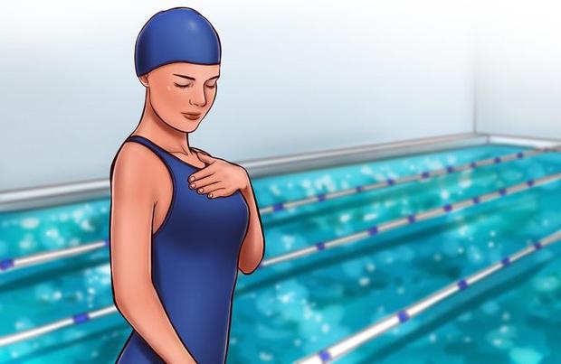 Làm thế nào để tăng thời gian nín thở khi bơi gấp nhiều lần bình thường? - Ảnh 4.