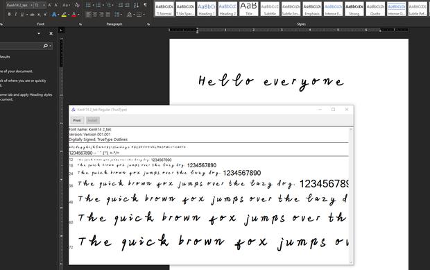 Chỉ cần 4 bước có ngay font chữ viết tay siêu độc của chính mình, không lo đụng hàng bất kỳ ai - Ảnh 7.