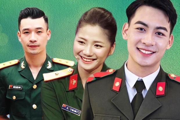 Hội quân nhân gây sốt TV Show Việt: Đẹp trai 6 múi, gái xinh mặn mà, có cả những hiện tượng khiến khán giả cười bò - Ảnh 1.