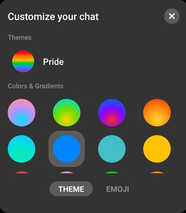 Messenger lại có giao diện mới mừng Tháng tự hào LGBT - Ảnh 1.