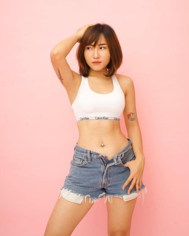 Body đẹp nhất hội streamer, hèn gì Uyên Pu cứ diện bikini là dân tình trầm trồ mãi - Ảnh 1.