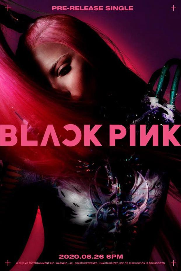 Quá ấn tượng với tài design poster của fan BLACKPINK, nhưng sửng sốt hơn cả khi thấy... ảnh teaser của Lady Gaga hoá thành viên thứ 5 như thật! - Ảnh 1.