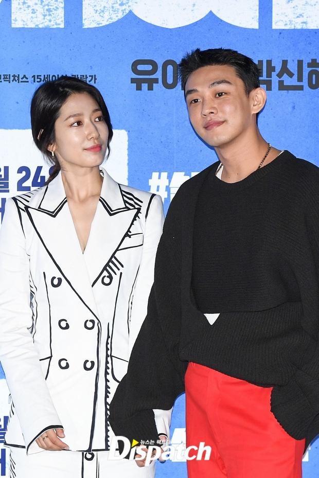 Park Shin Hye thân mật với Yoo Ah In tại họp báo, dân tình chỉ dán mắt vào nhan sắc tình màn ảnh của Lee Min Ho sau 7 năm - Ảnh 6.
