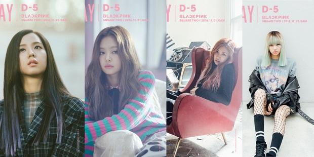 Nhìn lại Black Pink qua bao lần nhá hàng comeback: Style ngày càng thăng hạng, nhưng đặc biệt nhất là lần chơi trò đánh đố với netizen - Ảnh 2.