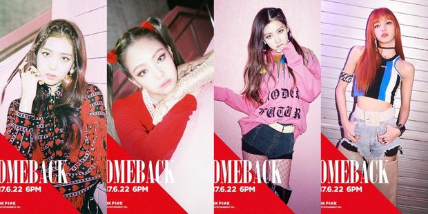 Nhìn lại Black Pink qua bao lần nhá hàng comeback: Style ngày càng thăng hạng, nhưng đặc biệt nhất là lần chơi trò đánh đố với netizen - Ảnh 4.