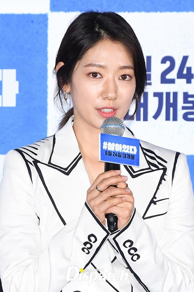 Park Shin Hye thân mật với Yoo Ah In tại họp báo, dân tình chỉ dán mắt vào nhan sắc tình màn ảnh của Lee Min Ho sau 7 năm - Ảnh 4.