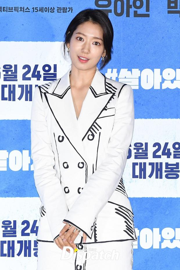 Park Shin Hye thân mật với Yoo Ah In tại họp báo, dân tình chỉ dán mắt vào nhan sắc tình màn ảnh của Lee Min Ho sau 7 năm - Ảnh 3.