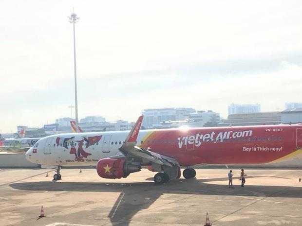 Vụ máy bay Vietjet hạ cánh bị trượt khỏi đường băng: Trước khi gặp sự cố, máy bay tiếp cận đường băng bình thường - Ảnh 1.