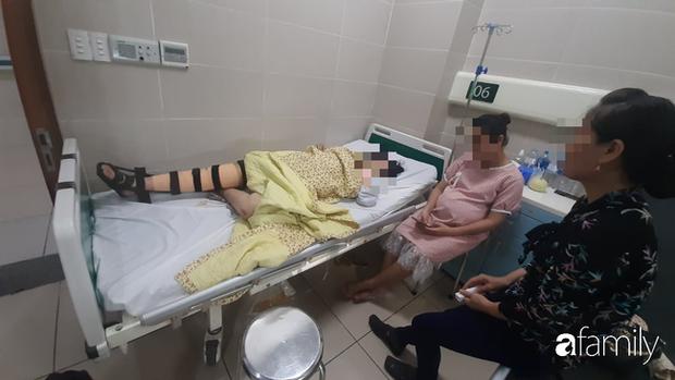 Vụ thai phụ 32 tuần tuổi bị mất con trong tai nạn ở Hà Nội: Gia đình chưa cho người mẹ biết chuyện - Ảnh 1.