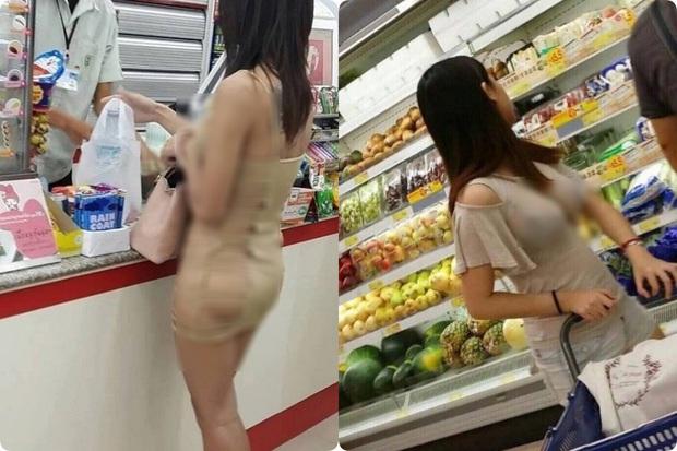 Đi siêu thị mua đồ mà cũng diện váy khoét nọ xẻ kia, đây là những bộ cánh của chị em khiến ai cũng phải... câm nín - Ảnh 6.