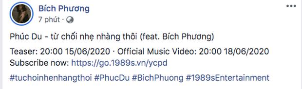 Bích Phương lách luật xuất hiện trong MV của Phúc Du, nhưng vừa đăng poster đã bị fan tóm gọn chuyện giấu đầu hở đuôi? - Ảnh 1.