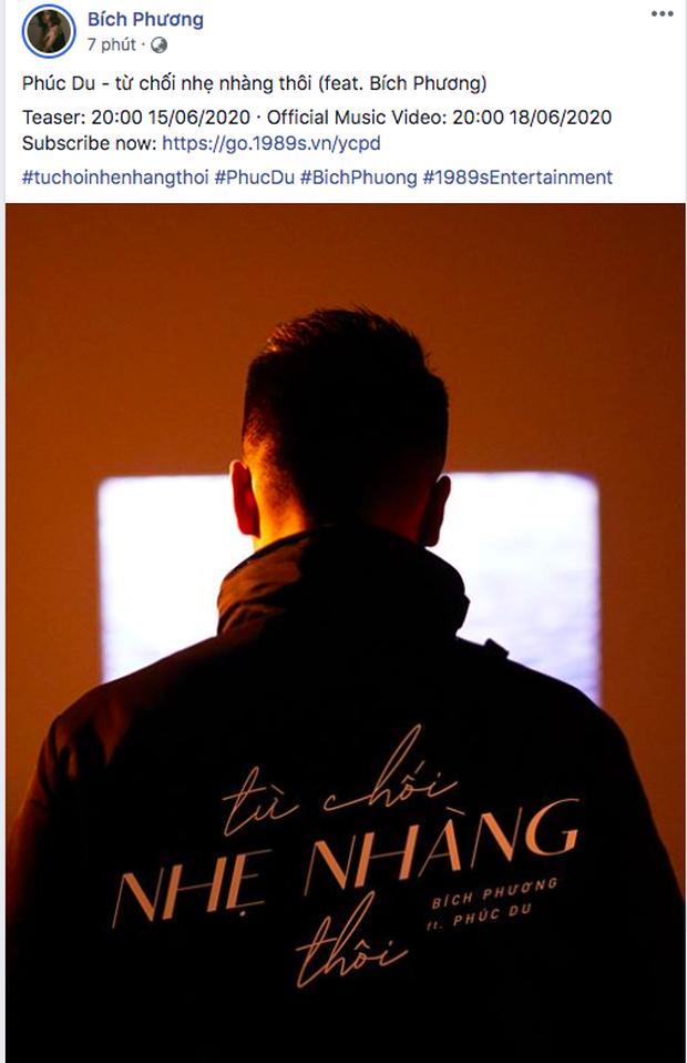 Bích Phương lách luật xuất hiện trong MV của Phúc Du, nhưng vừa đăng poster đã bị fan tóm gọn chuyện giấu đầu hở đuôi? - Ảnh 2.