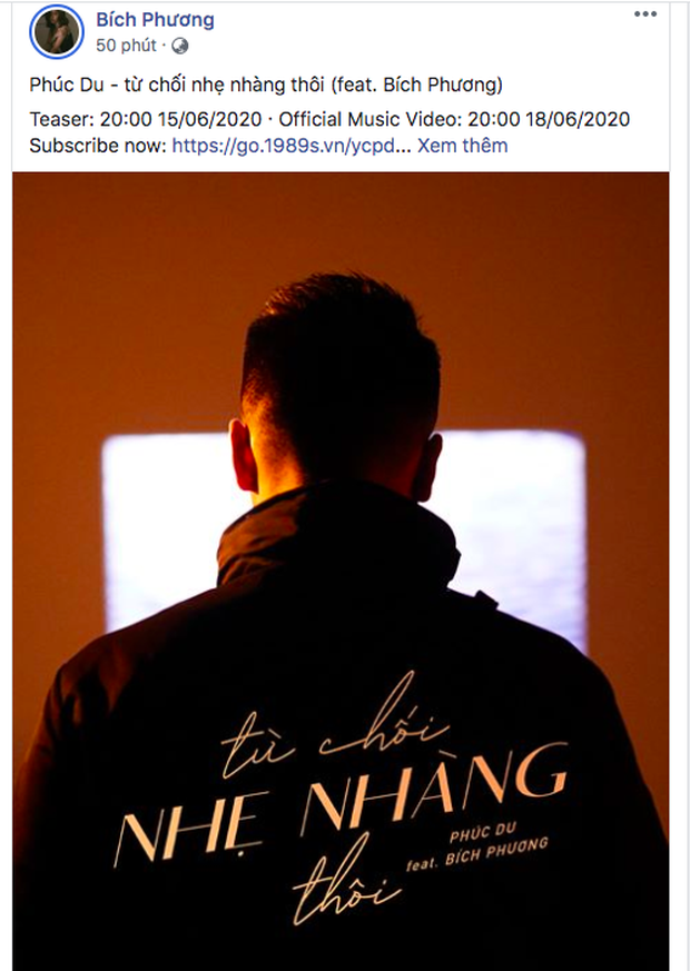 Bích Phương lách luật xuất hiện trong MV của Phúc Du, nhưng vừa đăng poster đã bị fan tóm gọn chuyện giấu đầu hở đuôi? - Ảnh 3.