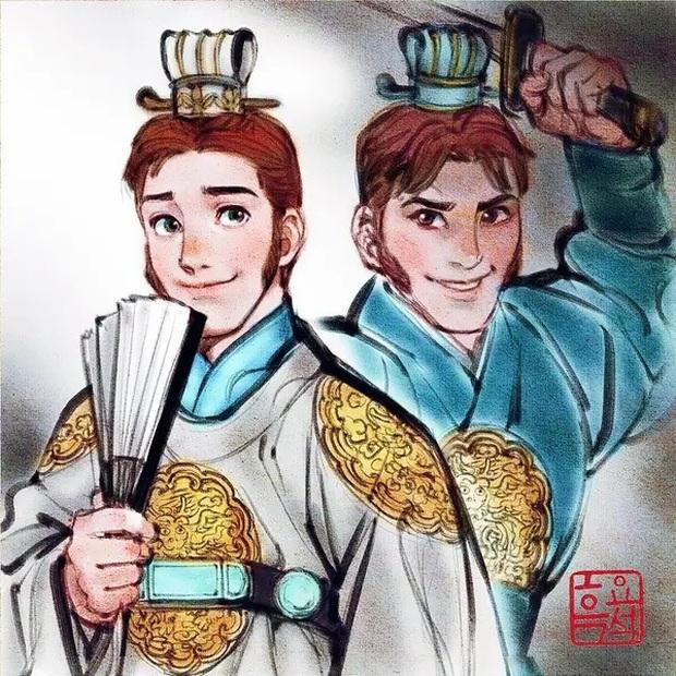Loạt ảnh đẹp hết nấc khi các nhân vật trong phim Disney khoác lên mình những bộ trang phục truyền thống của Hàn Quốc - Ảnh 14.