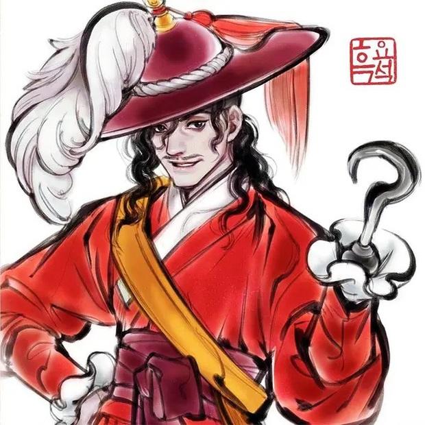 Loạt ảnh đẹp hết nấc khi các nhân vật trong phim Disney khoác lên mình những bộ trang phục truyền thống của Hàn Quốc - Ảnh 9.