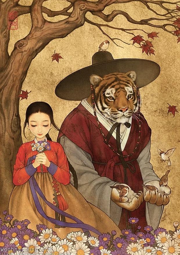 Loạt ảnh đẹp hết nấc khi các nhân vật trong phim Disney khoác lên mình những bộ trang phục truyền thống của Hàn Quốc - Ảnh 2.